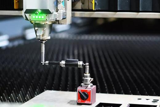 沪工中高功率宽幅激光切割机钢结构焊接床身