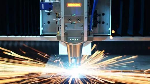 沪工中高功率宽幅激光切割机切割速度快