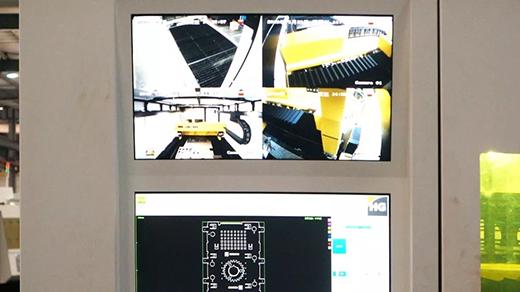 沪工中高功率宽幅激光切割机全方位监控养护